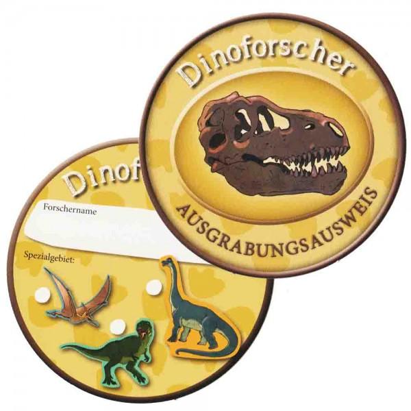 Dinoforscher-Ausweis 6St.