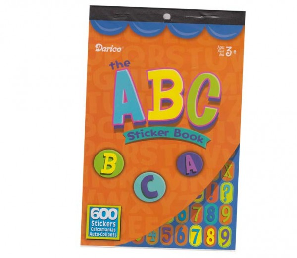 ABC-Stickerbuch