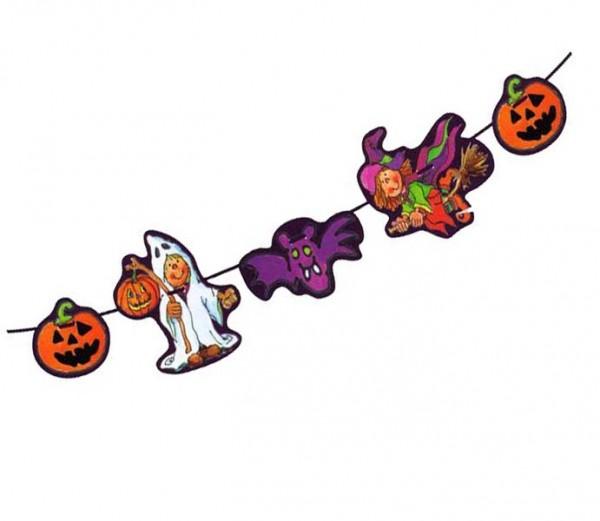 Girlande Halloween