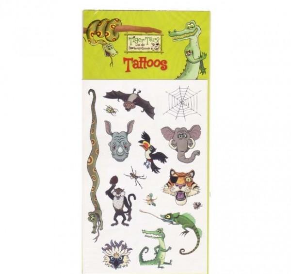 Dschungel-Tattoos