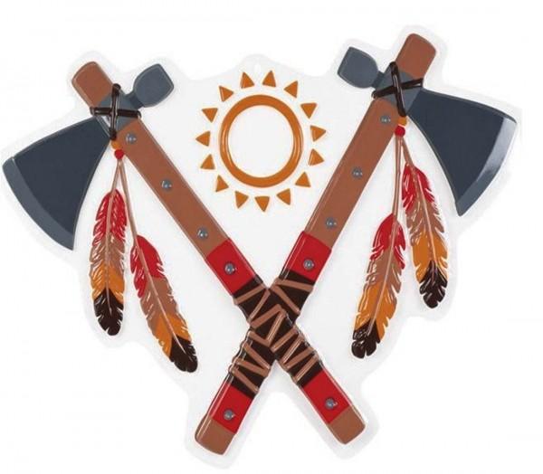 Wanddekoration Tomahawks