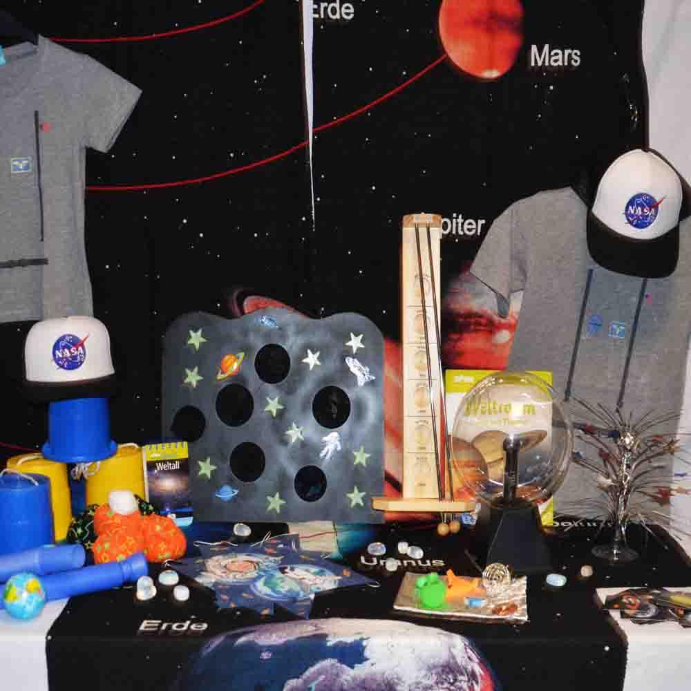 Weltall Partyzubehor Weltraumgeburtstag Zubehor