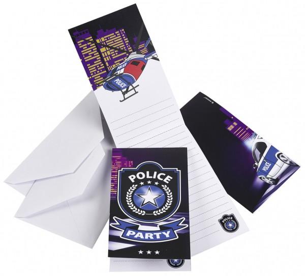 Stilechte Einladungen für die Polizeiparty