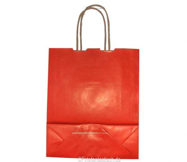Papiertasche Rot