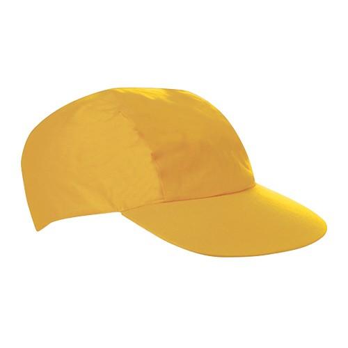 Schirmmütze in Gelb zum Bemalen und Gestalten