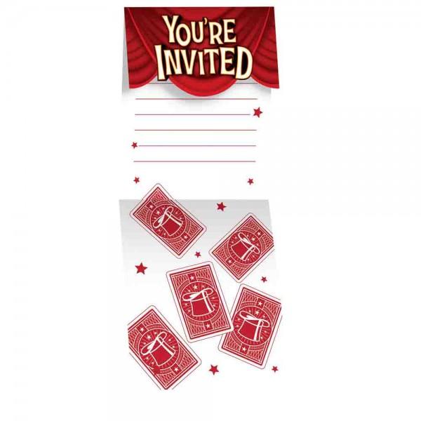 Magier-Einladungen