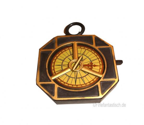 Schatzkarte mit Kompass