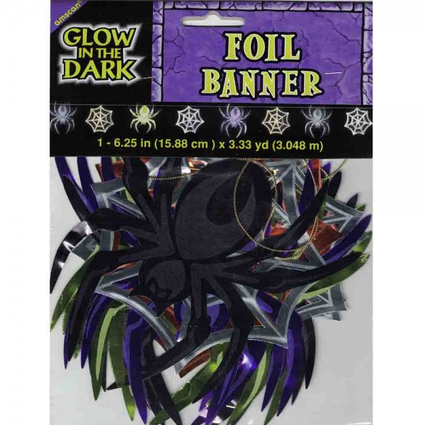 Spinnen-Banner