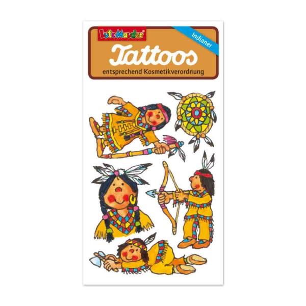 Indianer-Tattoo Auf der Jagd