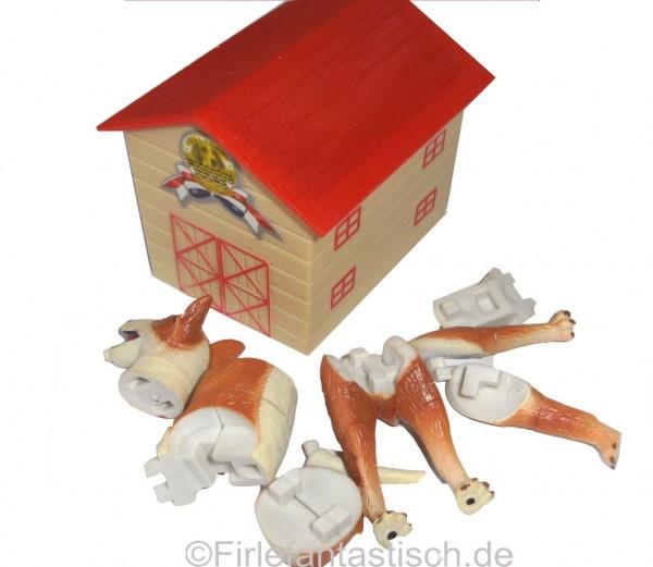 Hundepuzzle mit Hundehütte