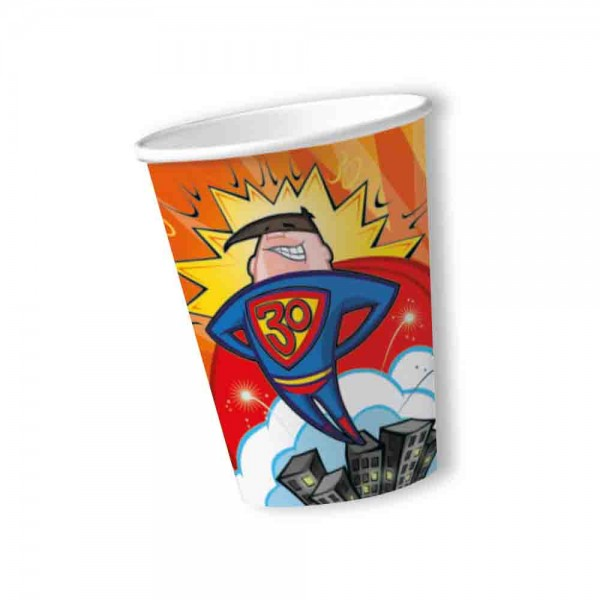 Becher Supermann 30