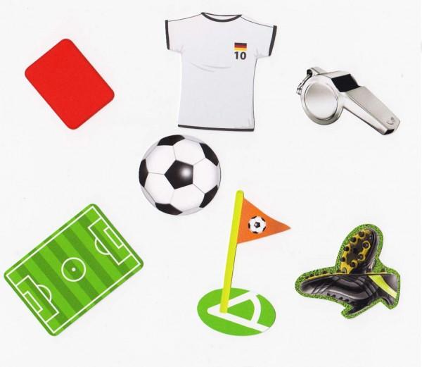 Fußball-Welt Konfetti XXL