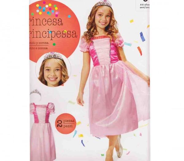 Kleid Prinzessin mit Diadem Größe M