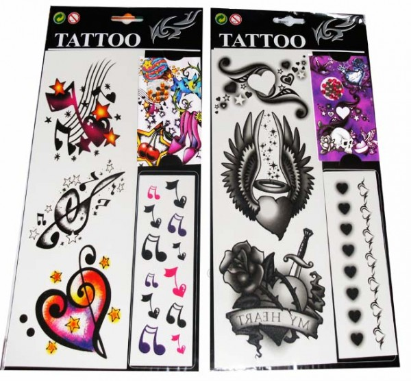 Tattoos mit Diamanten