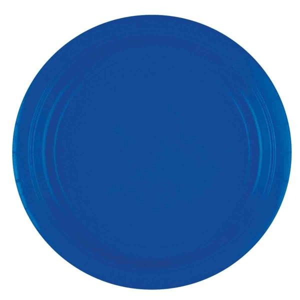 Blaue Partyteller 8 Stück