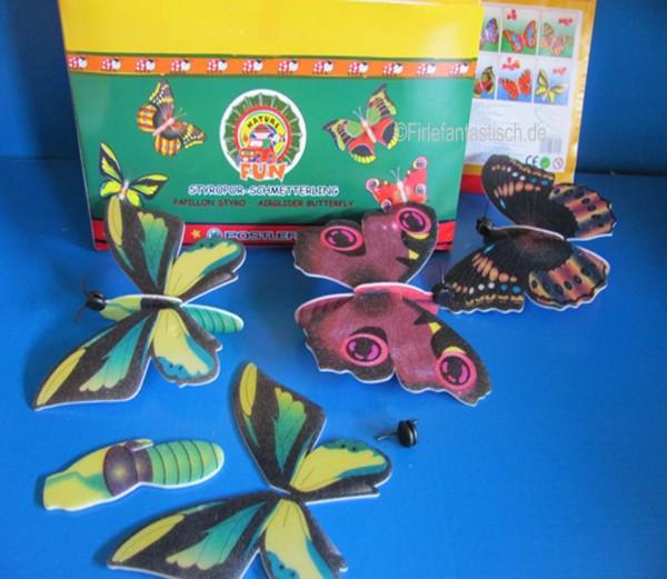 Schmetterling Styropor