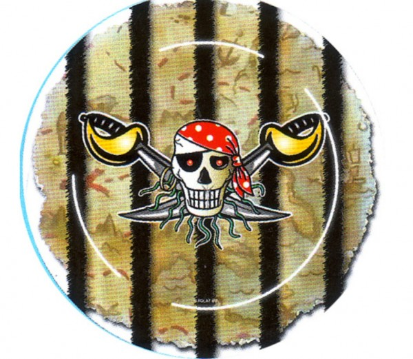 Teller Roter Pirat
