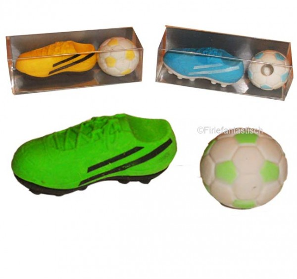 Radiergummi Fussball Set
