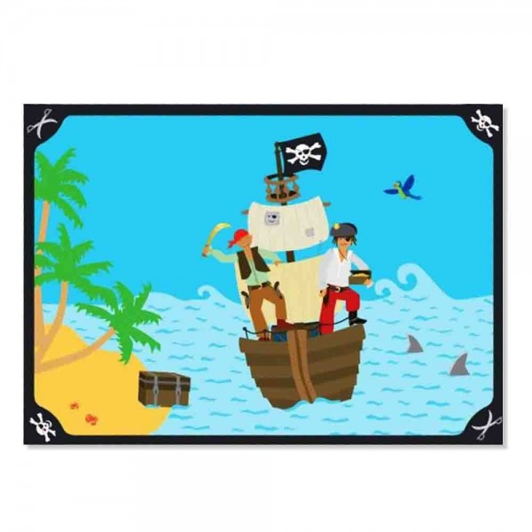 Platzset Pirateninsel 6St.