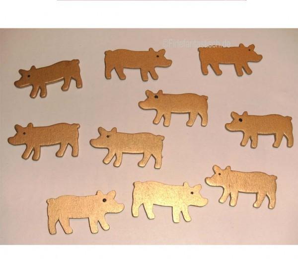Konfetti Schweine