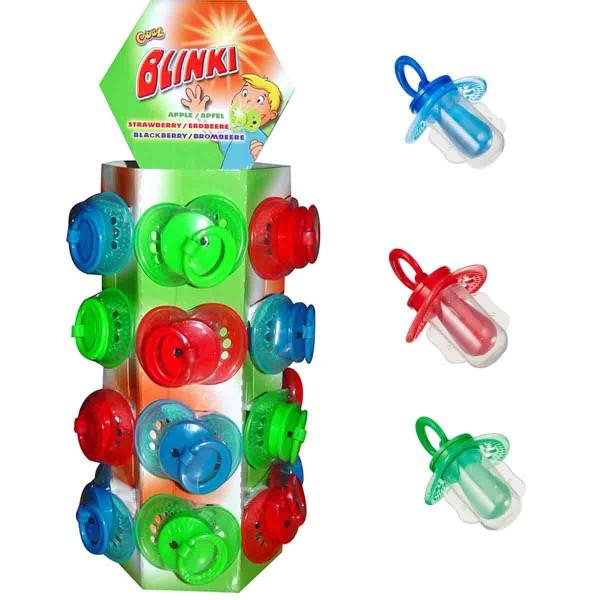 Cooler Blink-Schnuller-Lutscher