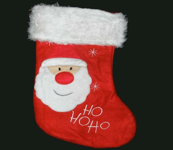 Filzstiefel Nikolaus für Geschenke