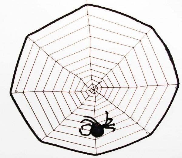 Spinnennetz groß