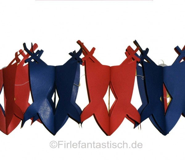 Ritterschild-Girlande