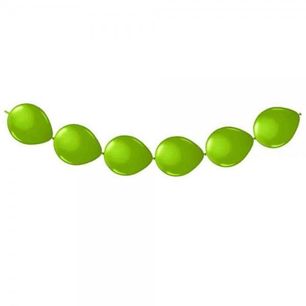 Ketten-Ballons Grün