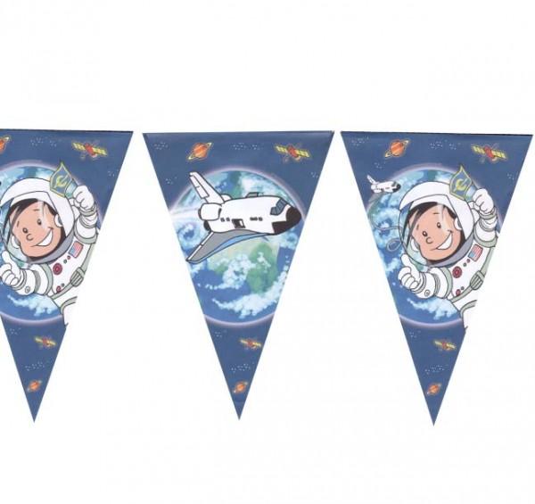 Wimpelkette Astronaut Flo