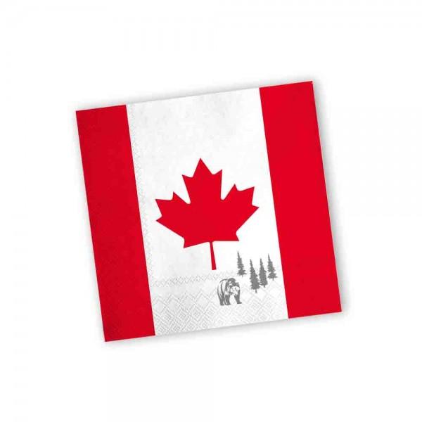 Kanada Servietten 20 Stück