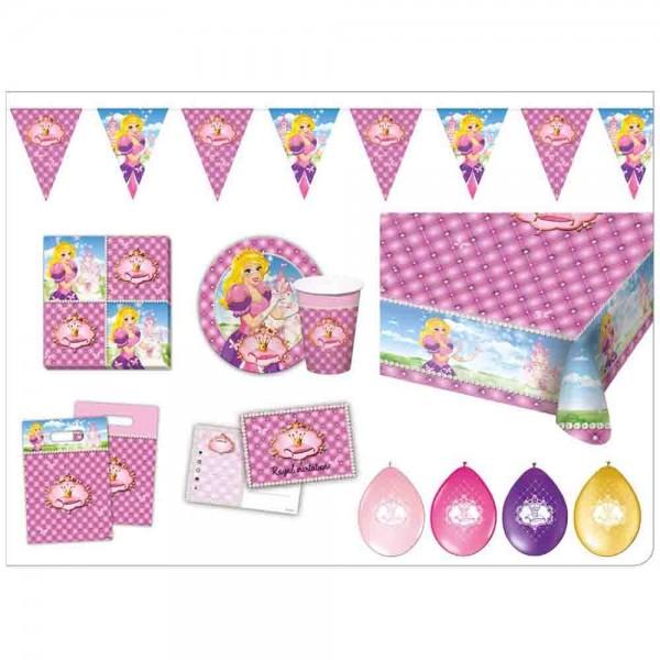 Partybox Zauberhafte Prinzessin für 6 Kinder