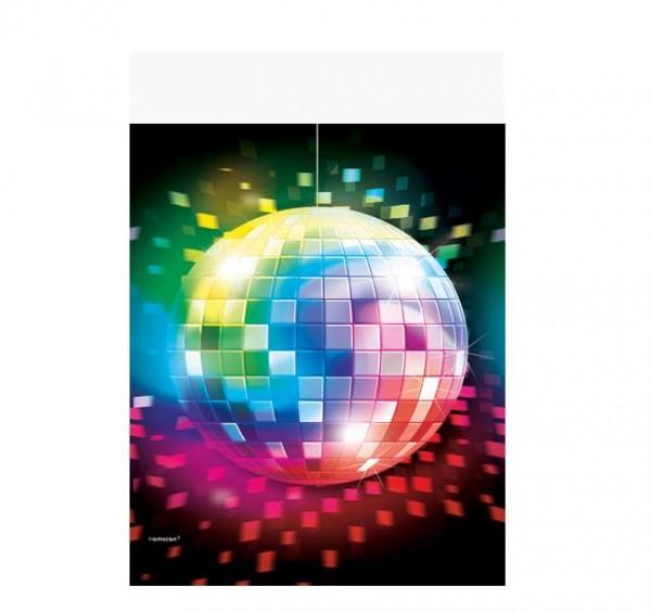 Disco-Tischdecke Kunststoff