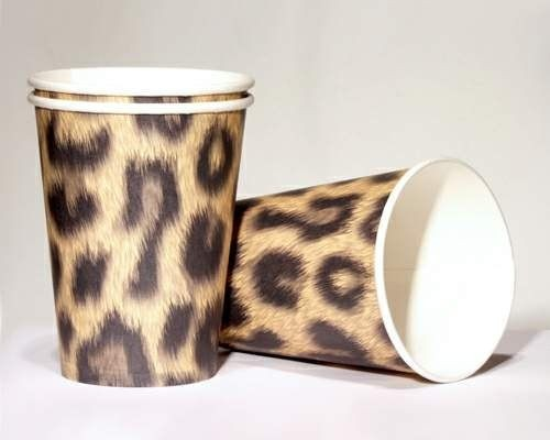 Leoparden-Becher