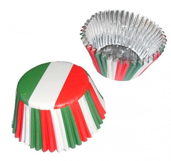 Papier-Backförmchen Italien