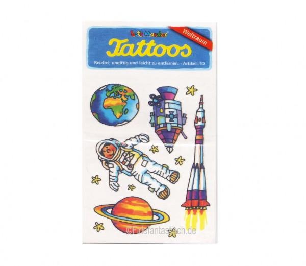 Weltraum-Tattoo