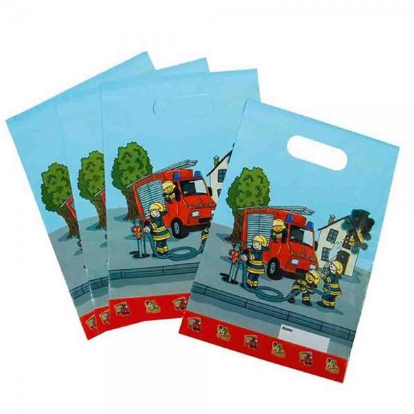 Feuerwehr Geschenktüten für die kleinen Mitgebsel
