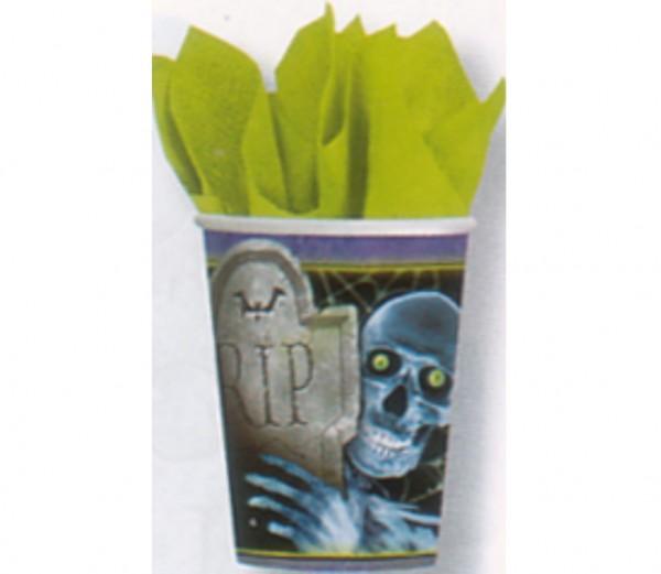 Cooler Gruselbecher für die Halloweenparty