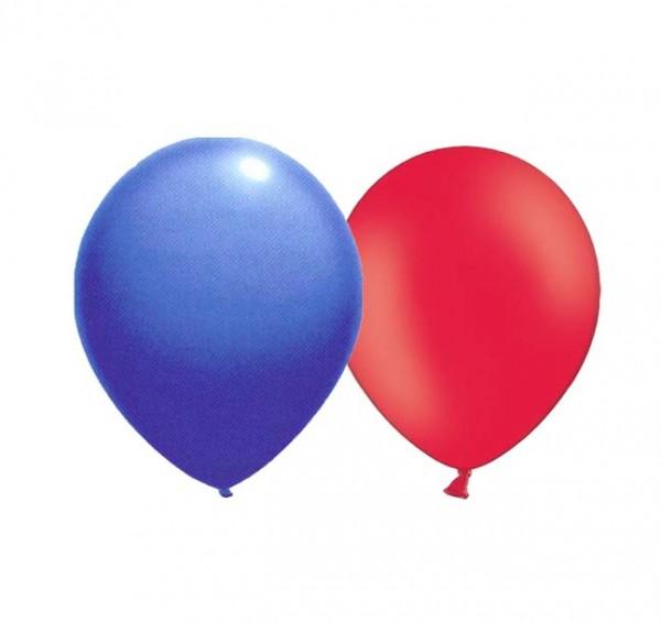 Ballons Blau/Rot
