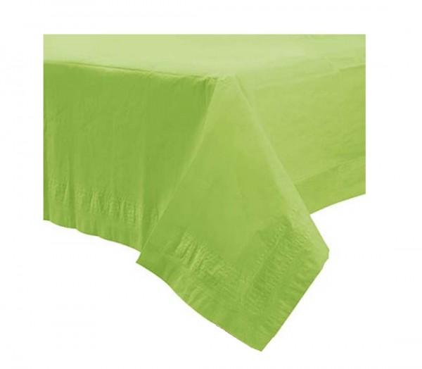 Grüne Tischdecke mit wasserundurchlässiger Schicht für die Party