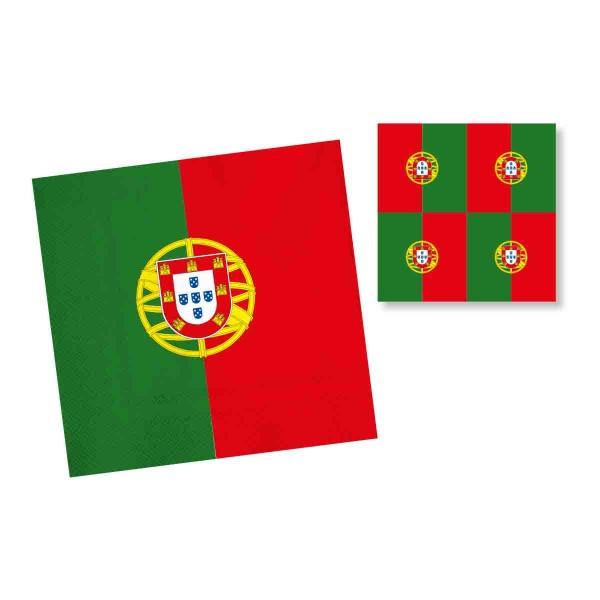 20 Servietten Portugal 33x33 cm