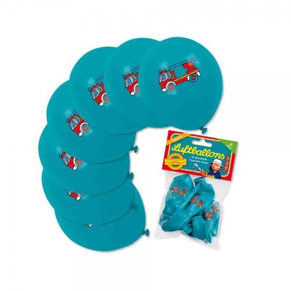 Luftballons für den Kindergeburtstag Feuerwehr