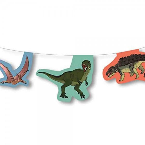 Dino-Kampf Girlande
