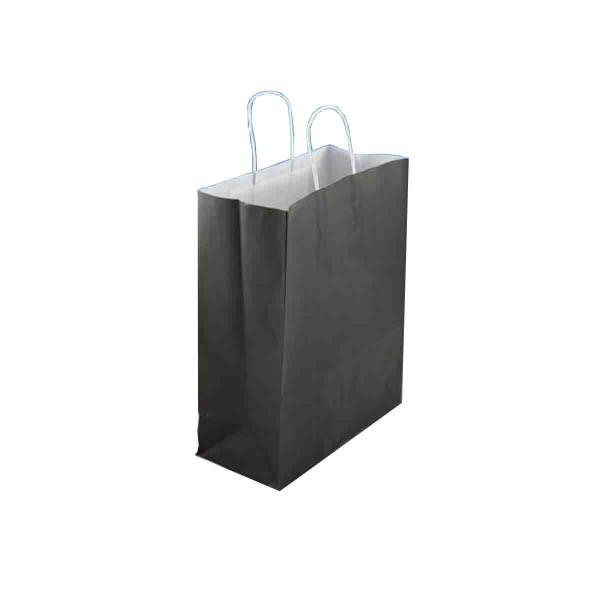 Papiertasche Schwarz