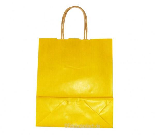 Papiertasche Gelb