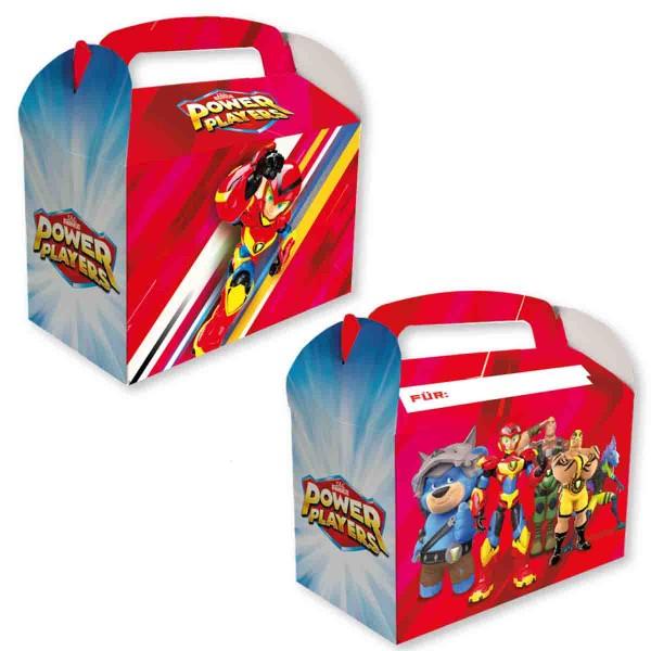 8 Geschenkboxen für den Power Players Geburtstag