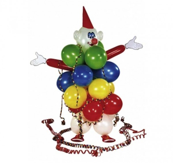 Ballon-Clown-Set