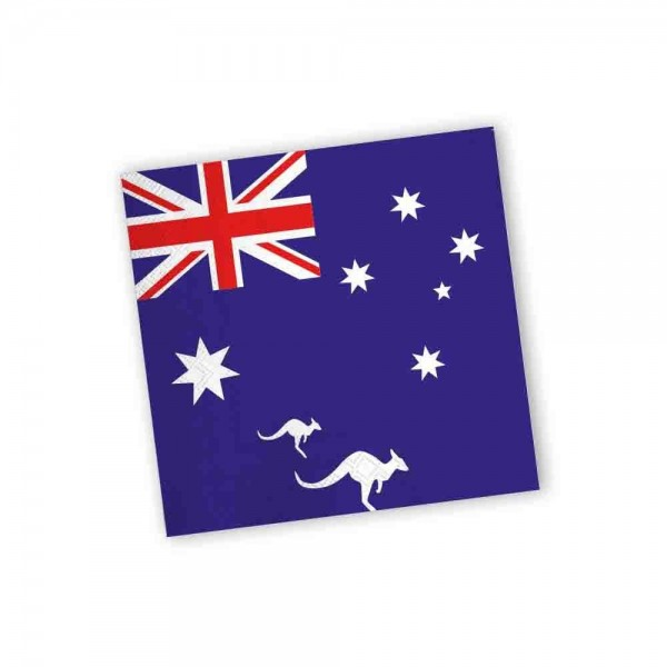 Australien Servietten