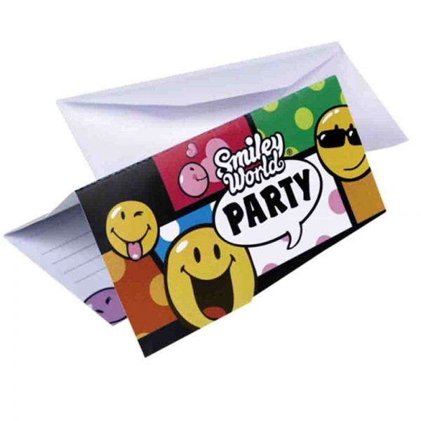 Smiley Einladungen