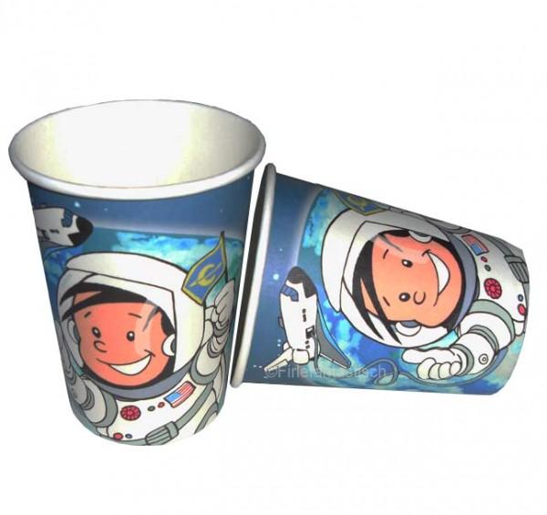 Becher Astronaut Flo